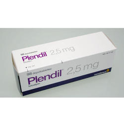 Plendil 2.5 mg Tablets