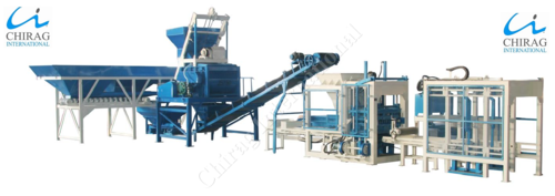 Fully Automatic Concrete Block Machine - High Production Automatic