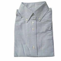 White Cotton Boys School Shirt