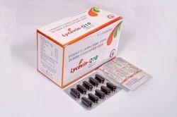 Co- enzyme Q10-100mg,L- carnitine 500mg  L-Arginine 100 Lycopene 4mg  zinc sulphate 66mg   Selenium