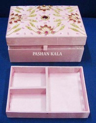 Hand Embroidery Zari Box