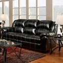 Reclining Leather Home Sofa