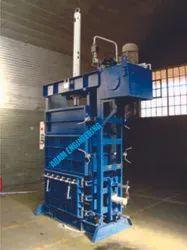 Waste Cotton Baling Press -Semi Automatic