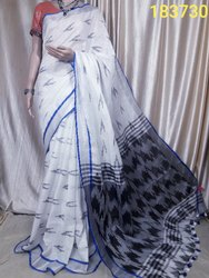 HANDLOOM Cotton Saree, Blouse Size: 1 Metar, Hand Made