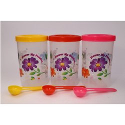 Kitchen Plastic Container