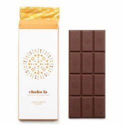 Chokola 80g Dark Almond Delight Chocolate Bar