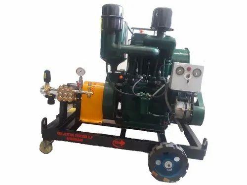 Diesel Engine Driven Hydro Test Pump