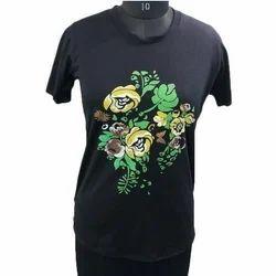 Half Sleeve Ladies Fancy T Shirt