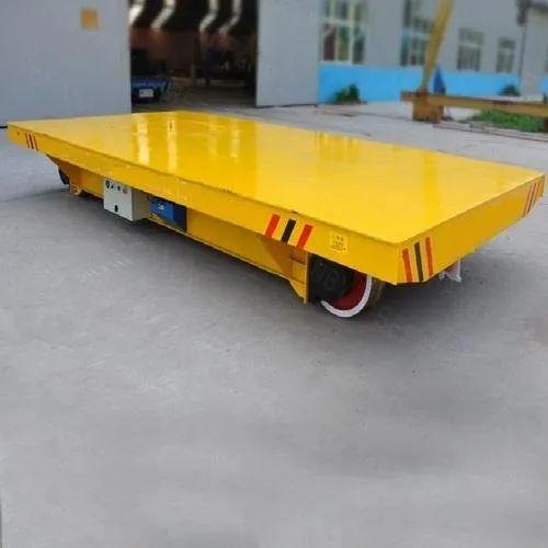 Motorized Material Transfer Trolley