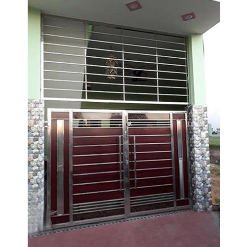 Stainless Steel Main Gate At Rs 26000 Piece Stainless Steel Gate