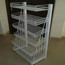 Stainless Steel Chocolate Display Rack, For Supermarket