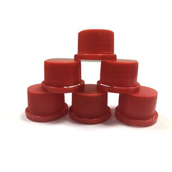Red 28mm Chemical Bottle Cap