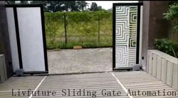 Double Side Sliding Gate