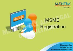 MSME Registration In Maharashtra