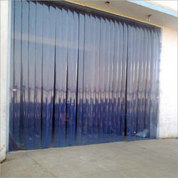 PVC Strip Door Curtains & Transparent PVC Strip Curtain Door For Cold Room And Cold Storage ...
