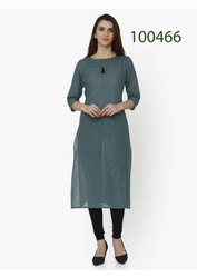 Adorable Straight Georgette Kurti By Parvati Fabric
