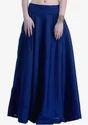 Blue Long Women Skirts