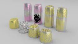Pull-Push Caps Plastic Deo Cap - Metallizing, Packaging Type: Tube Packing