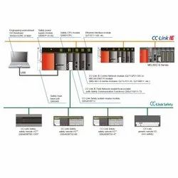 Mitsubishi QS0J65BTS2-8D 8 Points Safety CC-Link Safety System Remote I/O Programmable Controller