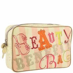 Light Yellow Makeup Bag, Size/dimension: 26.5*21cm