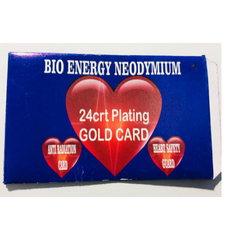 24 Carat Plated Gold Card