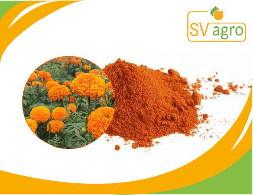 SV Agro 10% Zeaxanthin Marigold Flower Extract, Packaging Type: Pp Polybags, Hdpe Drums