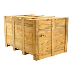 Europack Pine wood Wooden Shipping Box