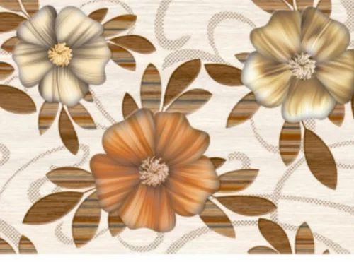 Woody Flower Tiles