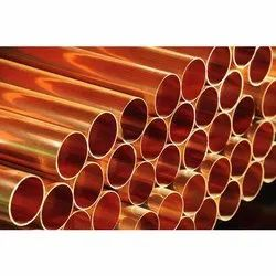 Round tunsten copper pipe
