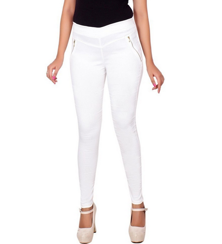 Women White New Look Slim Fit Jegging 277741f223e