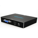 Hdmi To VGA Converter With Audio and Optical Metal Box