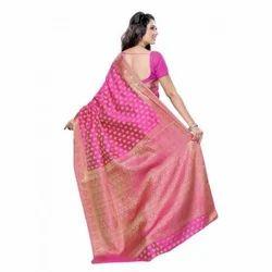 835033781e3dce Pink Silk Banarasi Sarees