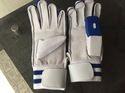 White Cricket Batting Glove