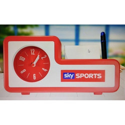 Promotional Pen Stand With Watch