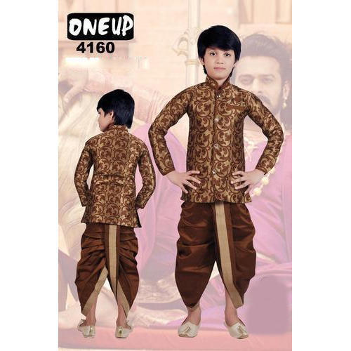 fa02fa1f1804 Printed Kids Fancy Dhoti Kurta, Rs 350 /set, Ketan Apparel | ID ...