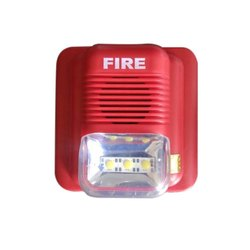 ABS Fire Alarm Hooter With Flasher