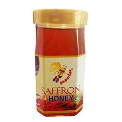 Natural Saffron Bee Honey 1kg