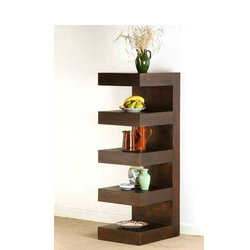 Salon Wooden rack shelf JMD 17