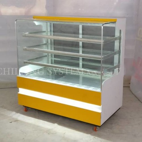 Stainless Steel Pastry Display Counter