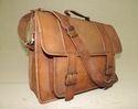 Genuine Leather Laptop Shoulder Bag