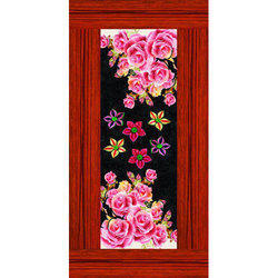 Floral Printed Chemical Door Paper