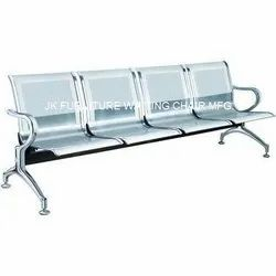 4 Seater SS Hospital Waiting Chair
