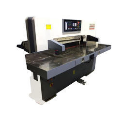 High Speed Programmable Paper Guillotine Machine