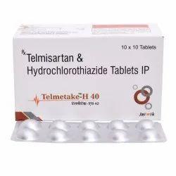 Telmisartan 40 mg & HCTZ 12.5 mg Tab