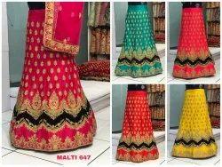 Fashionable Party Wear Designer Velvet/Silk Lehenga Choli