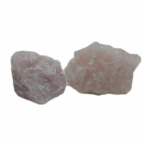 Amir Agate Natural Shape Rose Quartz Raw Tumbled Stones