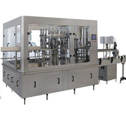 Automatic Rinser Filler Capper for Fruit Juice Machine Model-RRFCJ-60