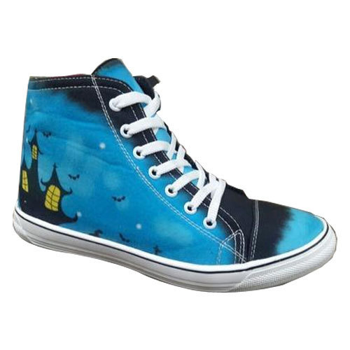 76165cb696ad5 Printed Canvas Shoes