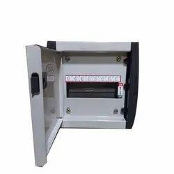 Single Door Mild Steel (MS) MCB Box