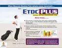 Etodolac & Thiocolchicoside Tablets